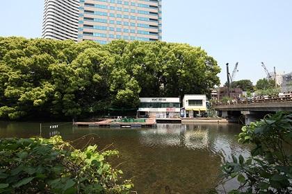 弁慶橋の釣り堀